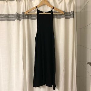 Black Urban Outfitter dress, boho